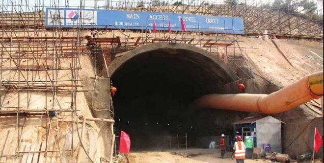 Construction ongoing at the big projects, Karuma and Isimba dams. FILE PHOTO