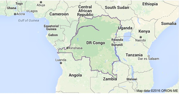 Map DRC 1