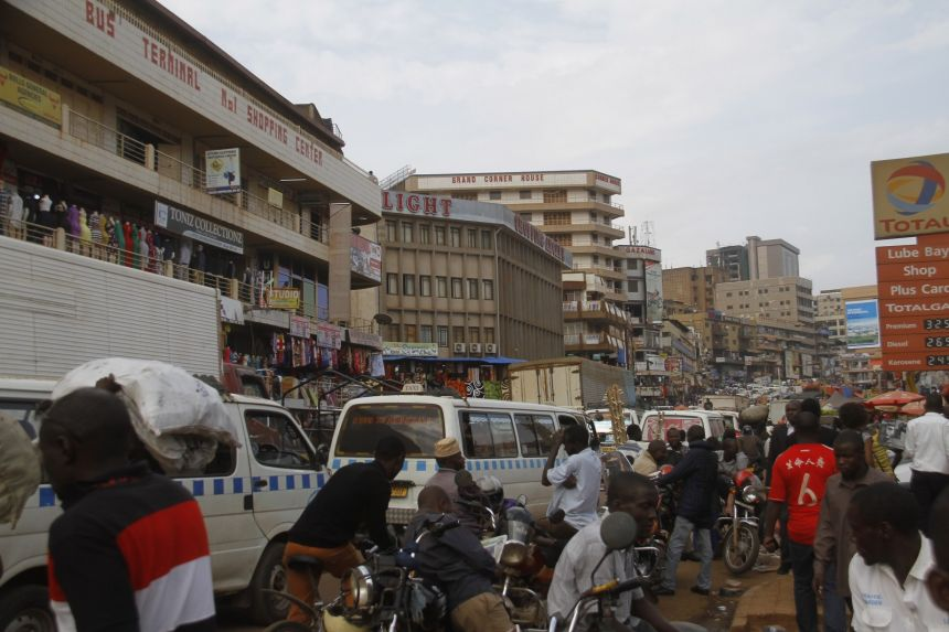 New construction is constantly popping up along Kampala's main road. PHOTO NEXT CITY