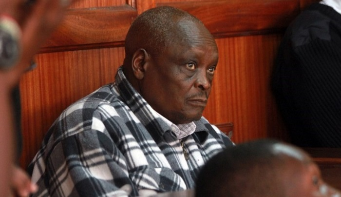 Kenyan Olympics Athletics Manager Michael Rotich appears at Nairobi Court on August 10, 2016 over allegations he demanded bribes to warn athletes of impeding doping tests. The official, who was the Kenya track and field team manager at the Rio Olympics, will spend a month in police custody during investigation, as the Sunday Times newspaper and German television . AFP PHOTO