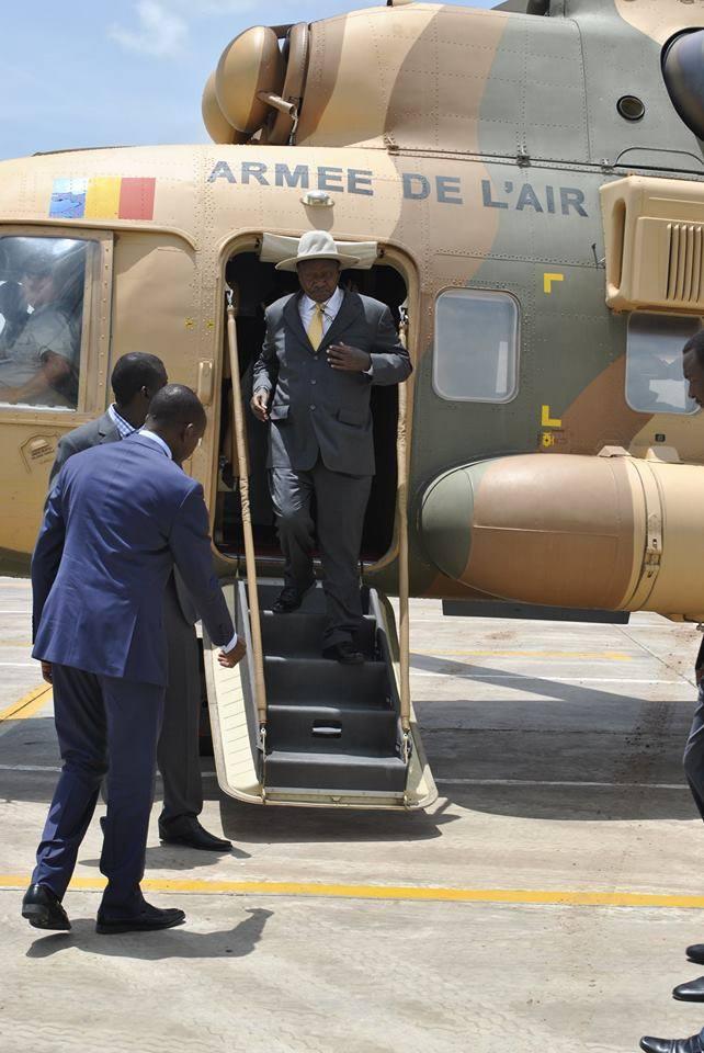 Museveni chad 4