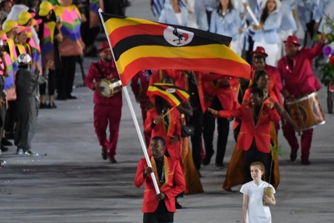 Uganda at opening ceremony